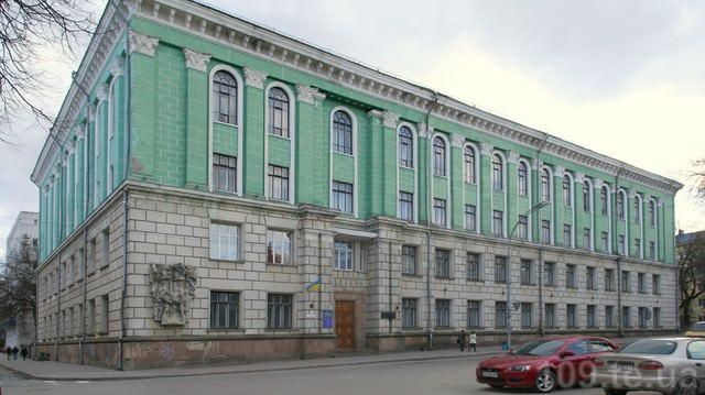 Фасад тернопільський державний