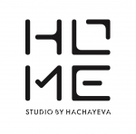 Логотип HOME studio by Hachayeva, Тернопіль