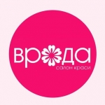 "Логотип Салон краси ""ВРОДА"", VRODA - Beauty center, Тернопіль"